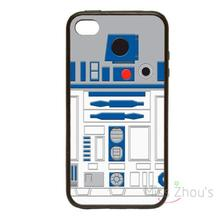 For iphone 4/4s 5/5s 5c SE 6/6s plus ipod touch 4/5/6 back skins mobile cellphone cases cover Star Wars R2D2 Style