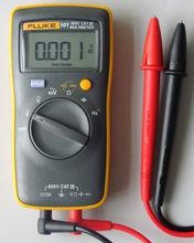 4-8 días de la llegada FLUKE 101 Kit tamaño de la palma multímetro Digital más pequeño que 15B + / platija 17B +