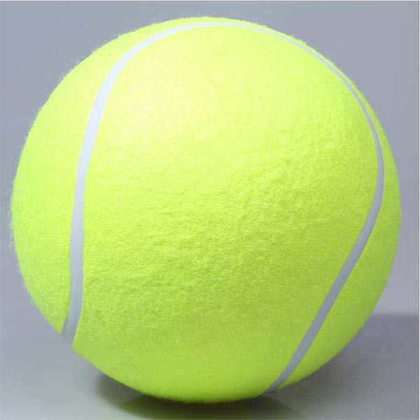 New Giant Tennis Ball Signature Signal Pet Chews Toys Dogs Playing Toy Dog Supplies Outdoor Sports Beach Cricket(China (Mainland))