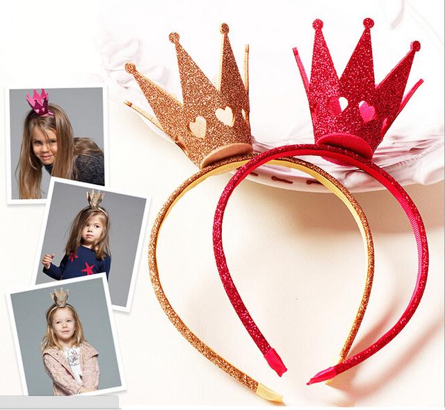Новинка золотая корона повязка на голову принцессы девушки свадьба корона повязка ...