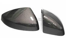 Вверх настоящее углепластик A3 заменить дизайн зеркало заднего вида крышка, Сторона зеркало шапки для Audi