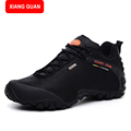 XIANG GUANG Men Boots Fashion 2017 Unisex Brand Platform Motorcycle Winter Ankle Boots Men Safety Martin
