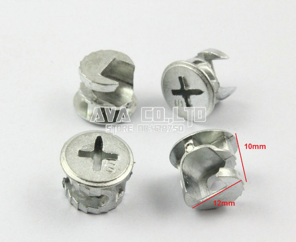 Pieces mm diameter furniture connecting cam fittings