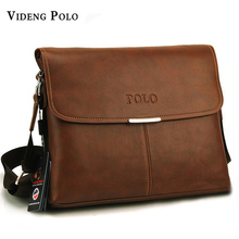 Buy 2017 New Hot Selling brand High PU Leather POLO Men Messenger Bags Crossbody Bags small Men's Travel shoulder Bags for $25.96 in AliExpress store
