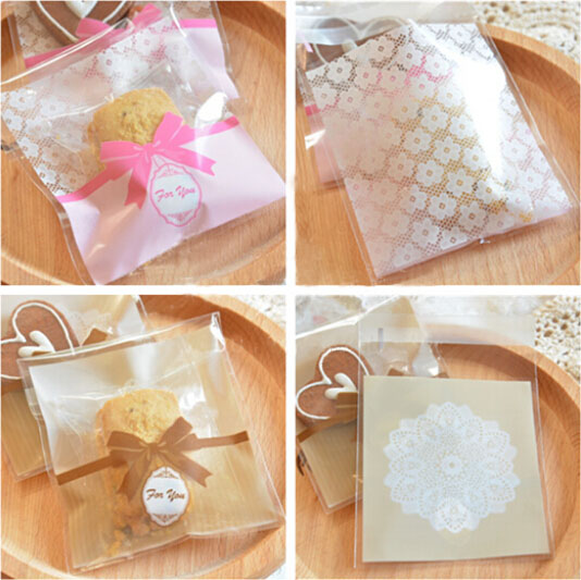 Wedding Gift Bag Snacks : Wrapping Bags,Cookies,Snacks,Party, Favor, Gift,Wedding Plastic Bag ...