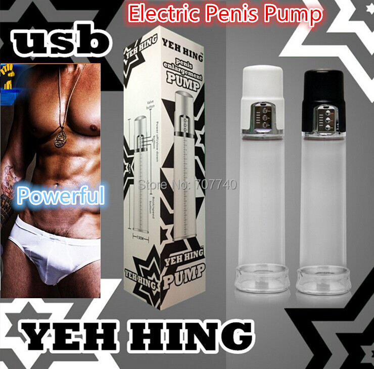 2015 New Electric Penis Pump ,electric male enlargement Vacuum pump,USB charged Penis extender Sex product,Sex toys for man(China (Mainland))