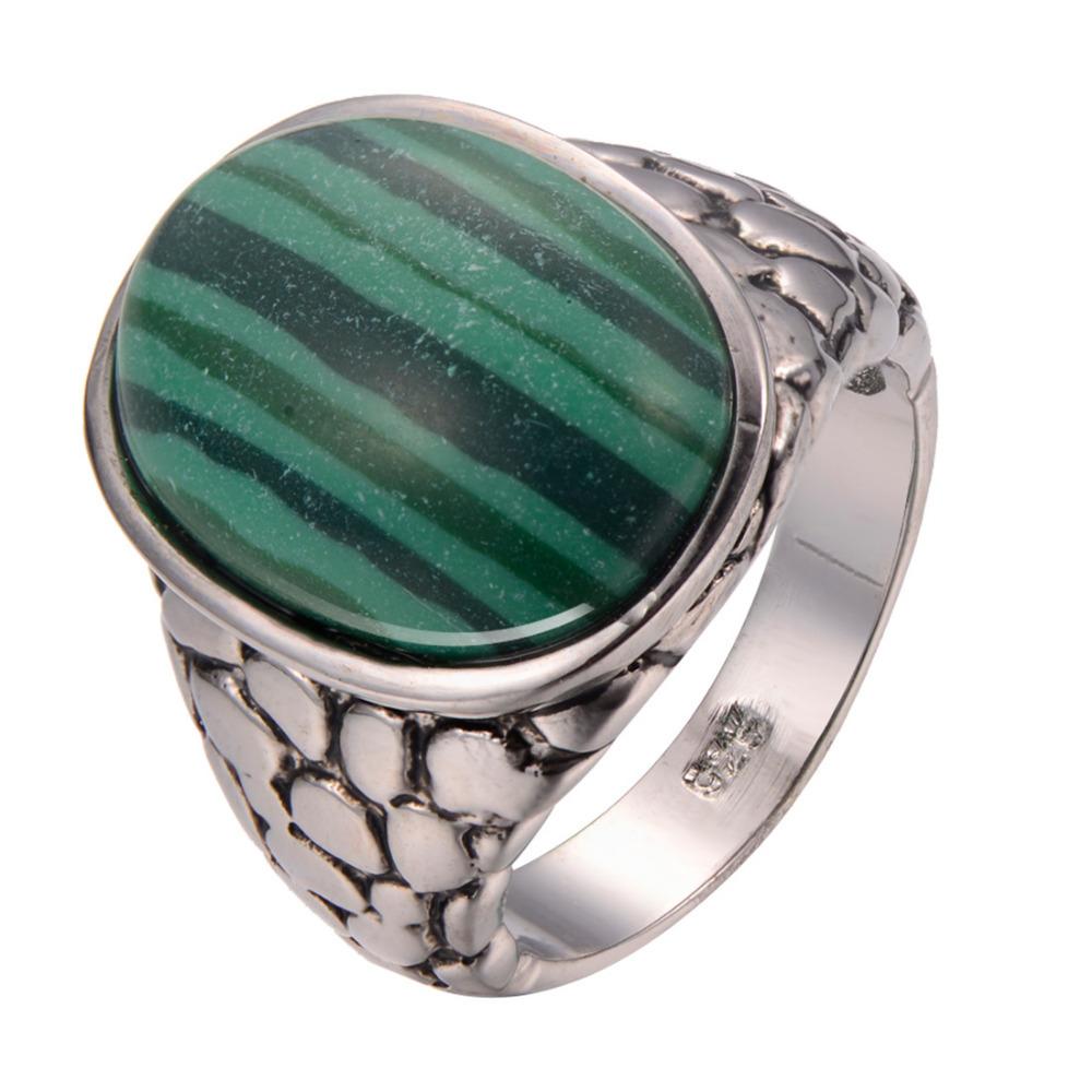 Malachite Wedding Ring