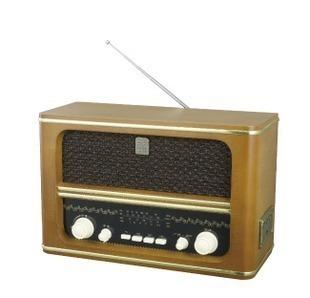 L607 antique wool radio vintage old fashioned usb radio sw1 sw2
