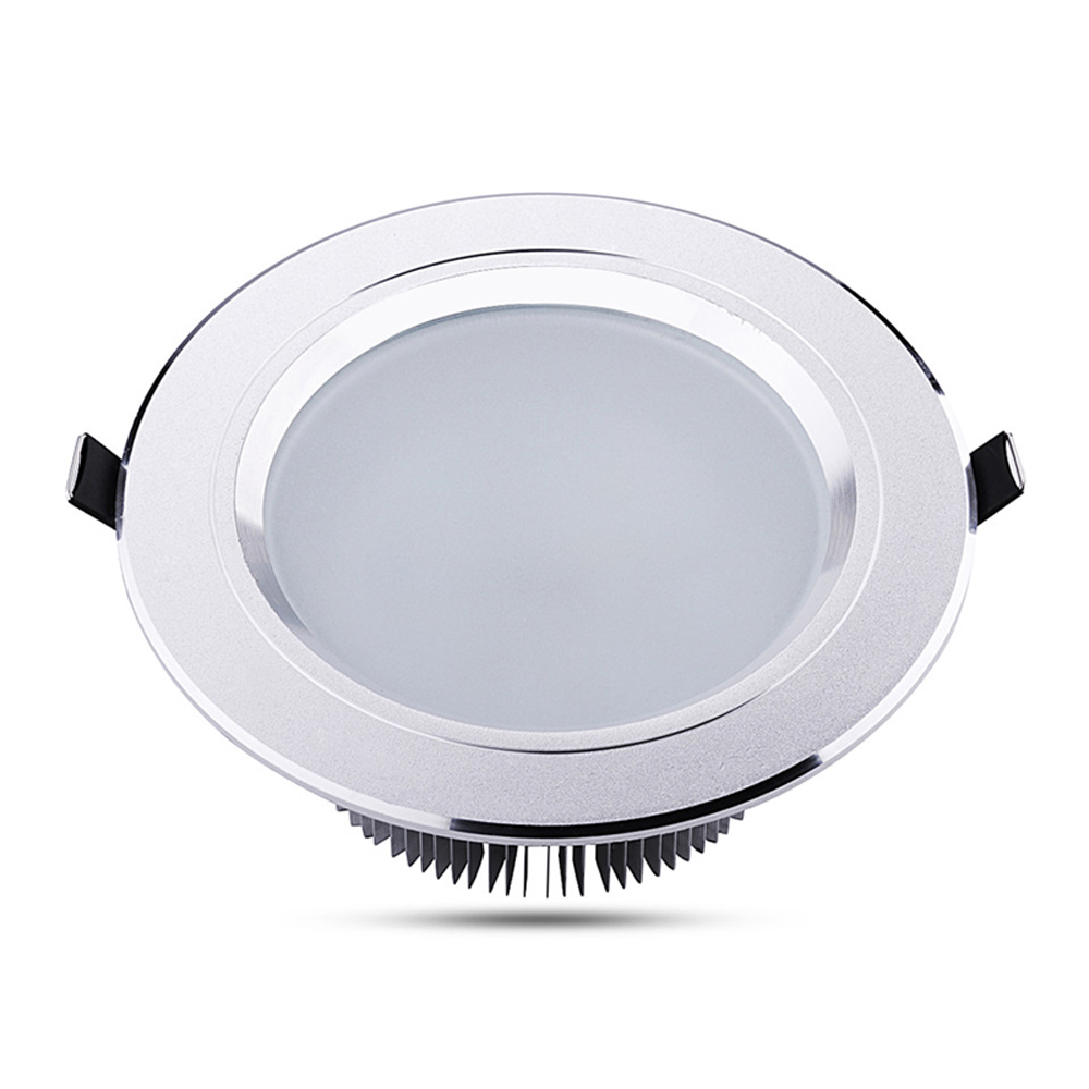 Indoor LED Downlights 3W 5W 7W 9W 12W 15W 18W 21W Home Lighting DC 12V Recessed Ceiling Spotlight Silver Wall Lamps with Driver(China (Mainland))