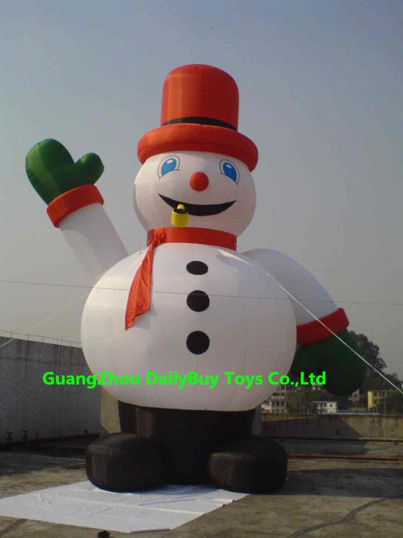 DAD17 10mH 33' Huge Commercial Airblown Inflatable Snowman Christmas Yard Art Decoration + 1 CE/UL Blower + Repair Kids + Bag(China (Mainland))