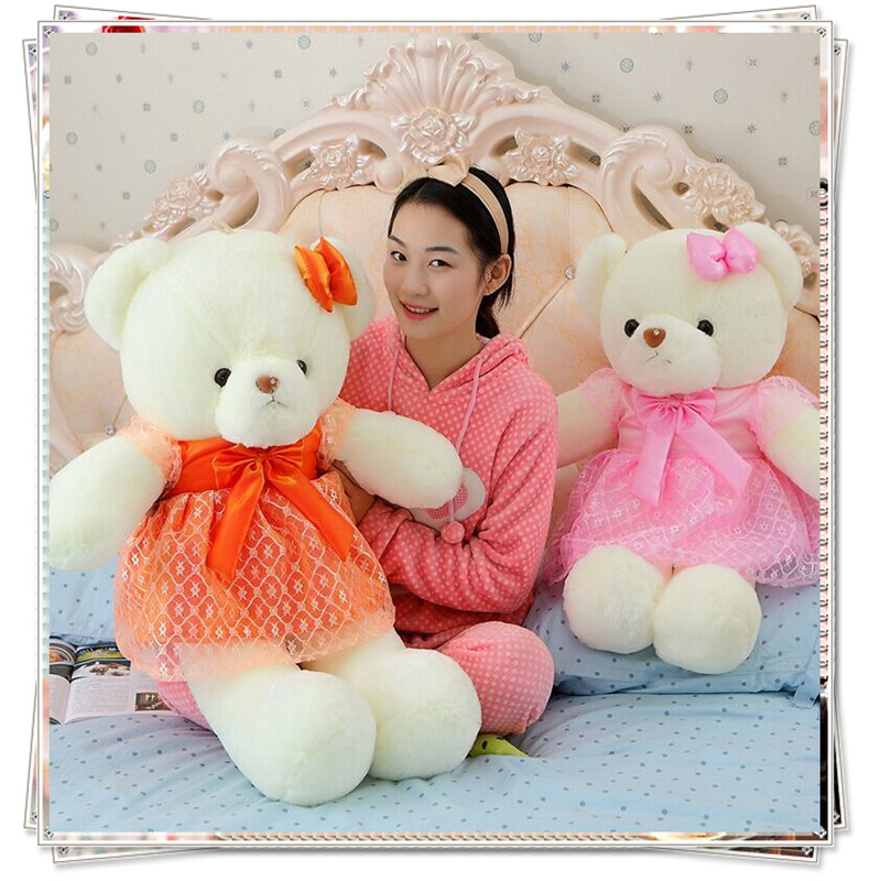 Life size teddy bear ty beanie boos giant stuffed bear soft toys for bouquets plush toys valentine day birthday gifts kids toys