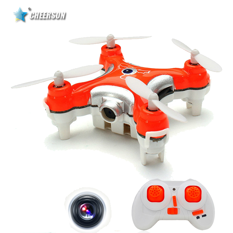 Mini Quadcopter Cheerson CX-10C Remote Control HeliCopter Drones With Camera Rc Hexacopter Professional Drones Micro Dron(China (Mainland))