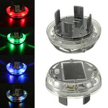 New 4 Modes 12 LED Car Auto Solar Energy Flash Wheel Tire Rim Light Lamp Decoration 1999-2013(China (Mainland))