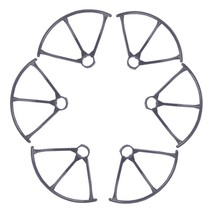 F15447/48 MJX X800 RC Drone Spare Parts: 3 Pairs Propeller Guard Bumper Protectors for MJX Hexacopter 6 axle Gyro UAV+FS