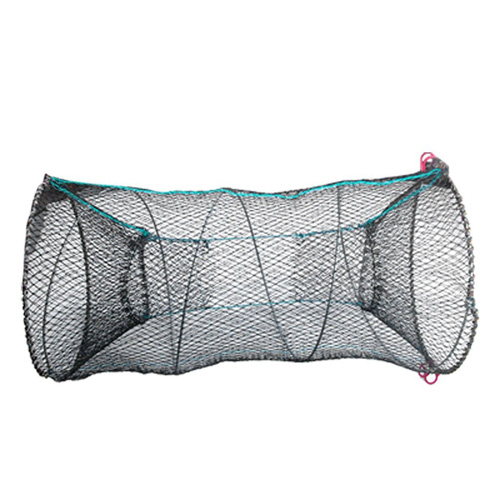 Black Lobster Crab Crawfish Shrimp Trap Cage Fishing Keep Catching Net Fisher Fast Shipping(China (Mainland))