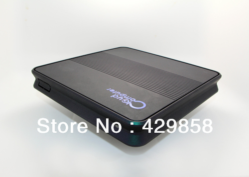 Free shipping 1080P Thin client PC Station Mini PC X2400 with 1GHz Core 1GB DRAM 8GB SSD and HDMI port(China (Mainland))