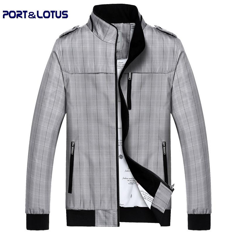 2015 New Plaid Men Jackets Business Casual Men Clothing Veste Homme Jaqueta De Couro Masculina037Одежда и ак�е��уары<br><br><br>Aliexpress