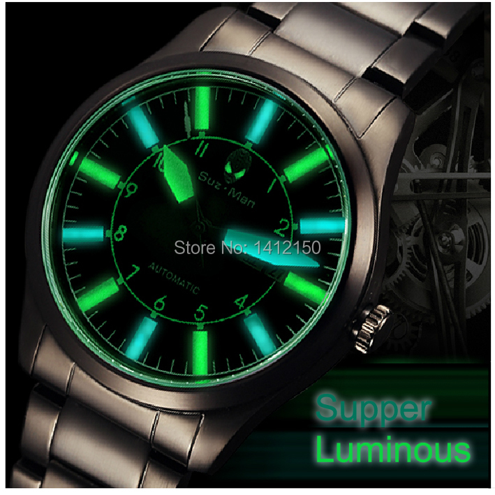 2014 Sport Diving Pilot Men Watch,Gent's S.Steel BandWristwatches waterproof Commerce,Birthday Gift+Free shipping(China (Mainland))