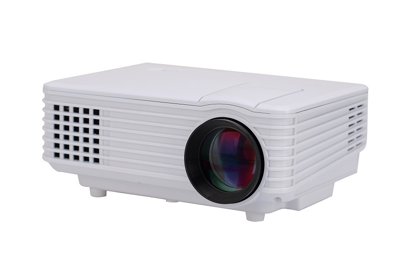 800*480 Native LED Projector Multimedia Projector Video Home Cinema Giant Screen Build-in Speaker Free shiping(China (Mainland))