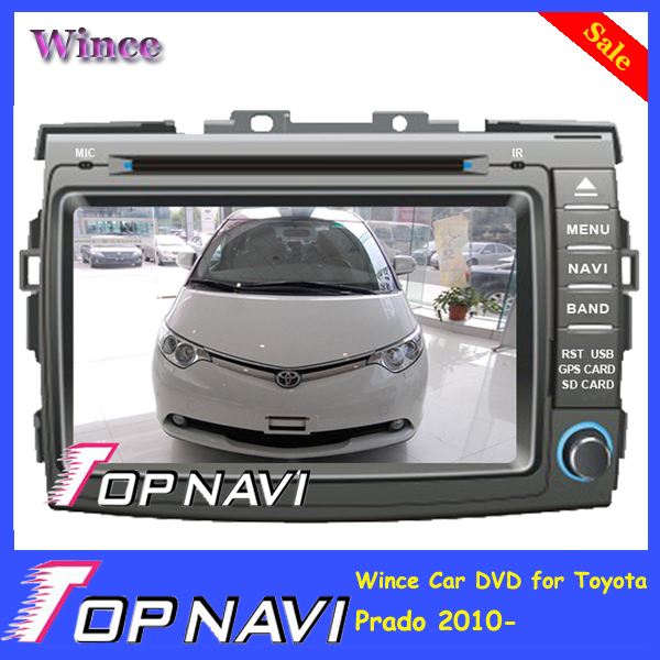 2015 Top DHL Free Shipping Wince Car DVD Player Video For Toyota Previa / Estima / Tarago/ Canarado 2006- With GPS Navi Free Map<br><br>Aliexpress