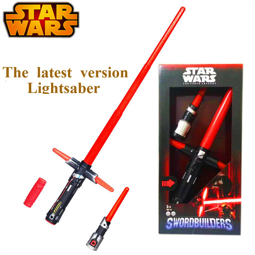 NEW Hot ! 105cm Star Wars lightsaber 7 The Force Awakens Kylo Ren LED scalable Cosplay Darth Vader action figure<br><br>Aliexpress