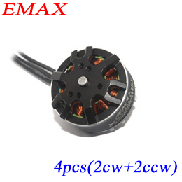 Здесь можно купить  4pcs EMAX motor multi axis copter 4mm shaft rc brushless outrunner 850kv / 660kv for helicopter quadcopter small electric motor  Игрушки и Хобби