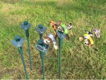 Solar Hummingbird hummingbirds Butterfly garden toys Solar bird Emulation bird Fly educational toy battery 2016 New Garden (China (Mainland))