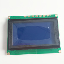 1PCS 5V LCM12864c-1 128x64 Dots Graphic Blue Color Backlight LCD Display module KS0107 KS0108 Compatible Controller New(China (Mainland))