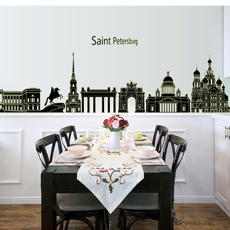 wall sticker dining room in wall stickers from home garden on