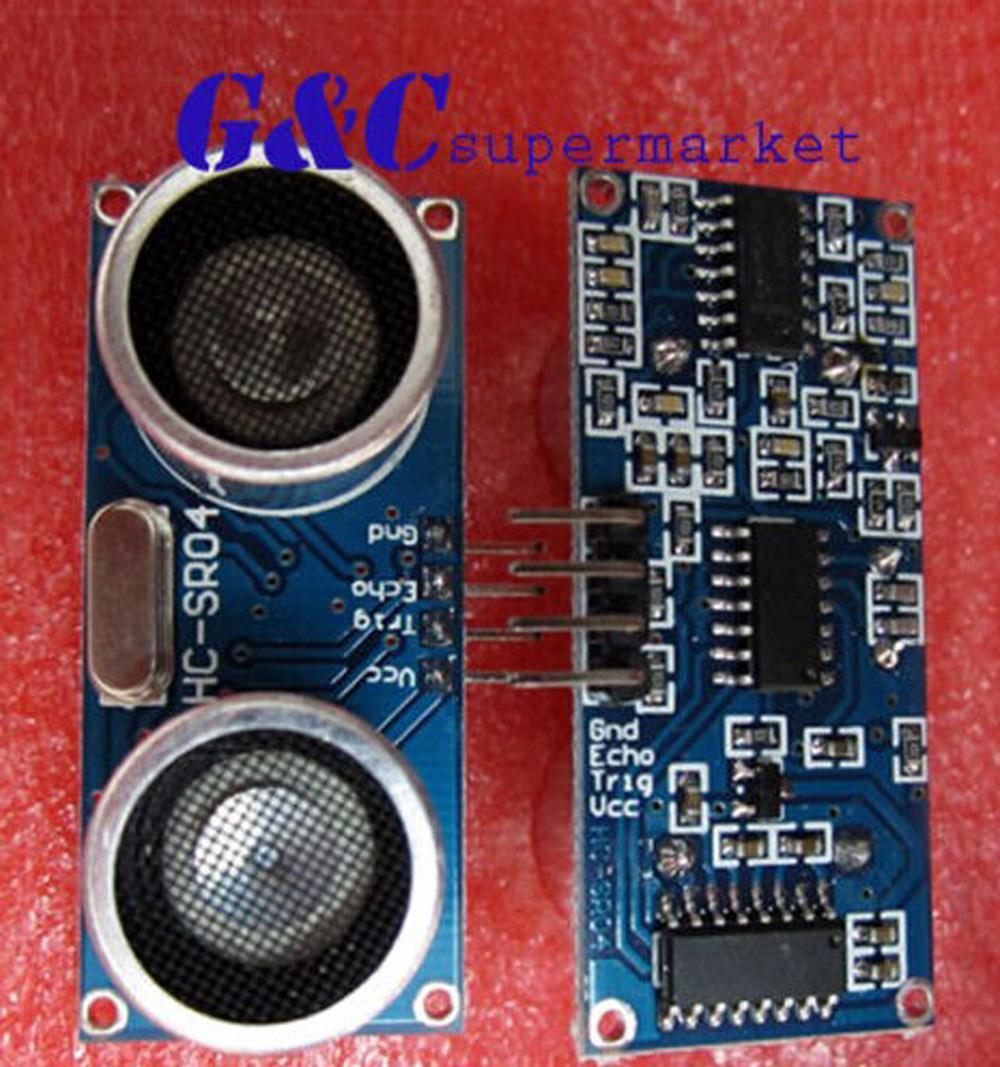 1pcs Ultrasonic Module HC-SR04 Distance Measuring Transducer Sensor HC SR04 HCSR04(China (Mainland))