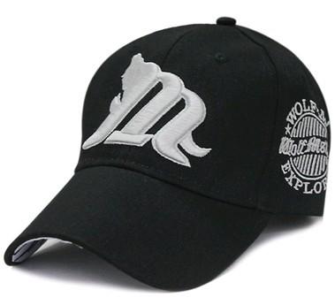 11' M Wolf fashion lady baseball cap men outside sun hat 4color 1pcs free shipping(China (Mainland))