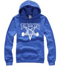 Thrasher Hoodie Skateboard Streetwear Sudaderas Hombre Hip Hop Sweatshirt Brand Tracksuit Men Sports Fleece Thrasher Hoodie(China (Mainland))