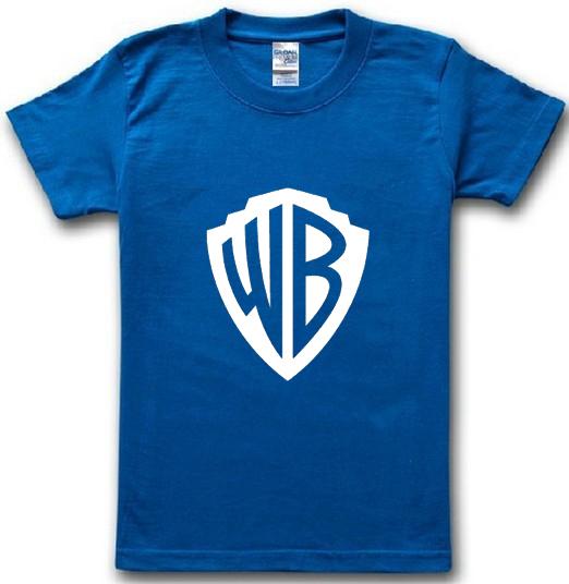 summer 2016 new brand famous movie wb Warner print 100% cotton t-shirt t shirt casual man short sleeve top tee(China (Mainland))
