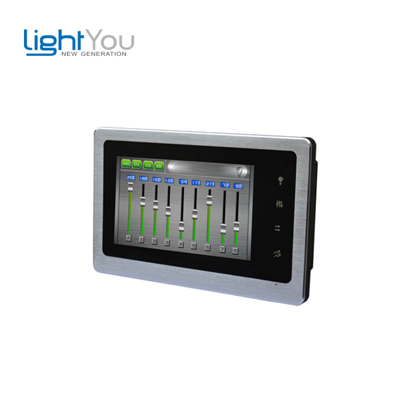 Led Dimmer Rgb Newest!!! Dc5v 36 Channel DMX signal Output Touch Screen Dmx Master Controller For Stage Lighting(China (Mainland))
