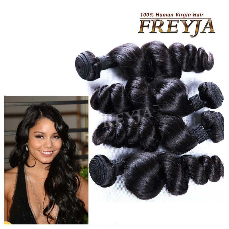 Malaysian Virgin Hair Loose wave With Closure 3 Bundles Malaysian Wavy Hair With Closure 7a Unprocessed Cheap Human Hair Weaves