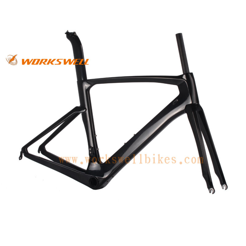 Promotion AERO TT Bike frame for sale carbon time trial bike frame BB386 free shipping(China (Mainland))