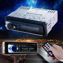 New Arrival Car Audio Stereo with In-Dash FM Radio MP3 Player Support Bluetooth USB SD AUX-In Port for Vehicle Auto Radio Device(China (Mainland))