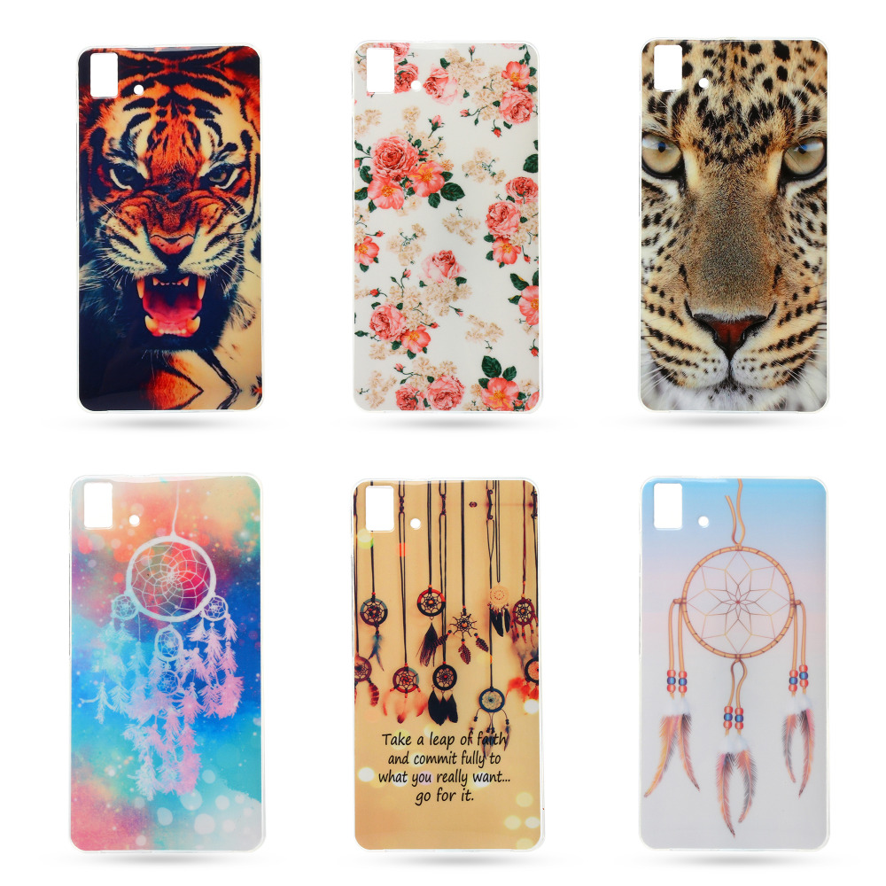 "For BQ E5 Fashion Popular Soft TPU Silicone Case Soft Plastic Cover For BQ Aquaris E5 4G LTE 5.0"" With Flower Tiger Phone Cases(China (Mainland))"