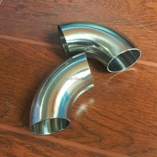 OD 38mm 1.5'' Sanitary Weld Elbow Pipe Fitting 90 Degree Stainless Steel 304(China (Mainland))