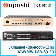 Buy Hifi Stereo Audio Amplifier Home Karaoke amplifier Bluetooth 5.1 for $160.00 in AliExpress store