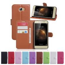 Buy Case Huawei Y6 Elite Wallet Flip Leather Case Card Slots Stand Holder Cover Huawei Y6Elite/Y5 II 2 Mobile Phone Bag for $2.75 in AliExpress store