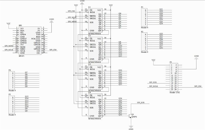 Raspberry Pi Infinity Cascade RPI GPIO Expansion Board IO