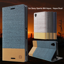Buy Cover Sony Xperia M 4 Aqua & Aqua Dual Mobile phone Bag Stand PU Leather Card Slot Phone Cases Sony Xperia M4 Aqua for $3.71 in AliExpress store