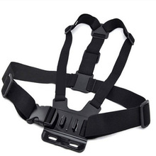 new GoPro Accessories Harness Adjust Elastic Shoulder Chest Strap for GoPro Hero 4 3 3+ 2 SJ4000 SJ5000 Xiaomi yi Sport Camera