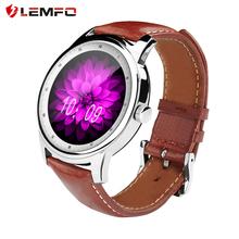 Lemfo LEM1 bluetooth-смарт часы HD IPS экран мужчины женщины элегантный SmartWatch для Apple , IOS Samsung Android телефон