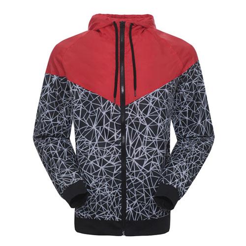 spring Autumn new men's sports jacket hooded jacket Men Fashion Thin Windbreaker Zipper Coats Free Shipping!(China (Mainland))