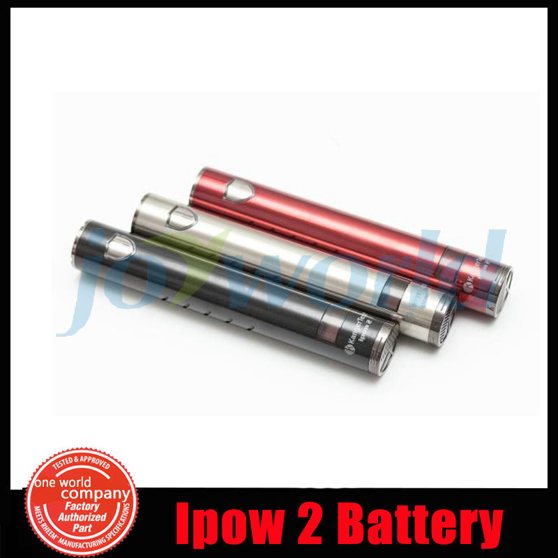 100 Authentic Kangertech Battery Ipow2 E Cigarette EGO Battery Kanger Ipow 2 with OLED Screen Micro
