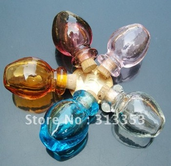 Scent necklace vial(18X27MM,0.5ML,assorted colors),Fragrance pendant vial, Fragrance necklace vial
