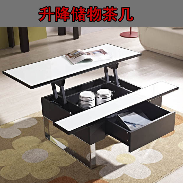 Small apartment living room coffee table dressing table for Small dining table with storage