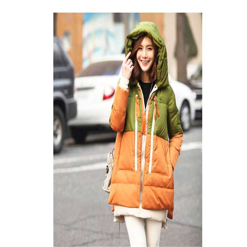 2015 new style winter women  hooded long sections and down jacket women down coat PJ031Одежда и ак�е��уары<br><br><br>Aliexpress